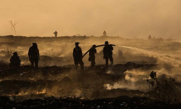 Чим небезпечне горіння сміттєзвалищ?