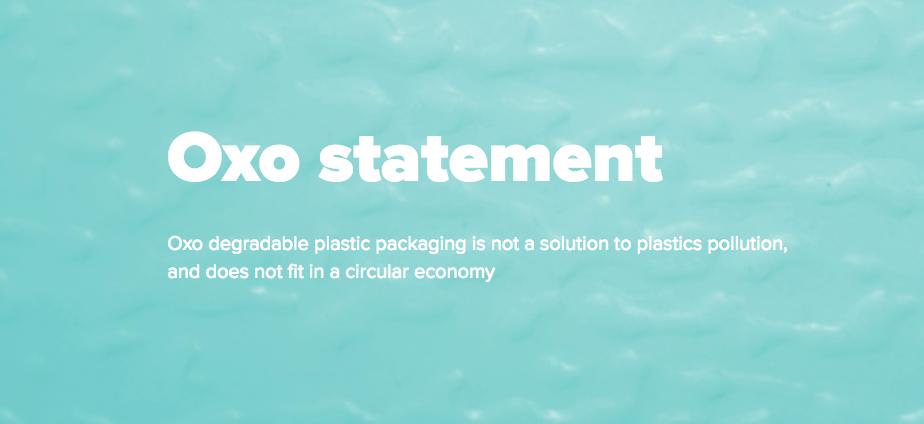 Заява Фундації Еллен МкАртур щодо оксо пластику