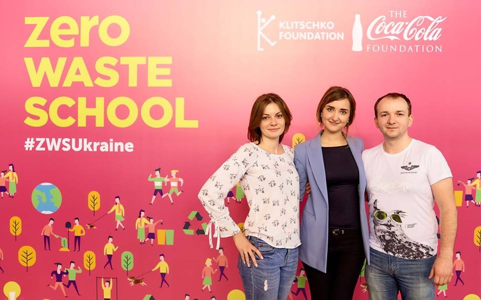 Команда ReThink взяла участь у проекті Zero Waste School Фонду Кличко